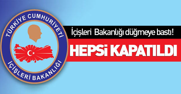 FETÖ-PKK bağlantılı 370 dernek kapatıldı