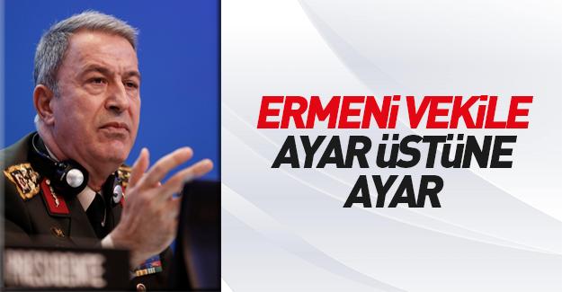 Genelkurmay Başkanı Ermeni vekile yanıt verdi