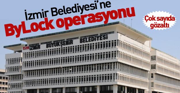 İzmir Belediyesi'ne şok baskın! Çok sayıda gözaltı var