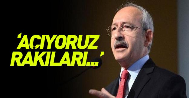 Kılıçdaroğlu'ndan itiraf gibi açıklama: Açıyoruz rakıları…