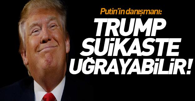 Trump hakkında flaş iddia! 'Suikaste uğrayabilir'
