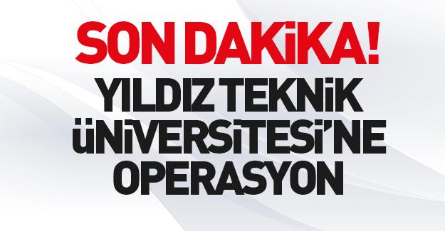 Yıldız Teknik Üniversitesi'nde ByLock operasyonu