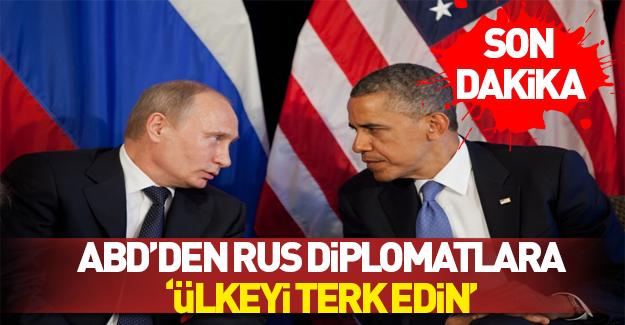 ABD'den Rus diplomatlara 72 saat süre