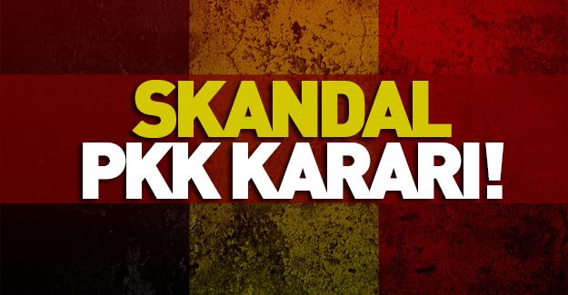 Belçika'dan skandal PKK kararı!