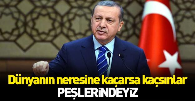 Erdoğan'dan hesap soracağız sözü