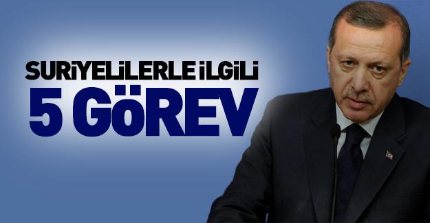 Erdoğan'dan önemli talimat!