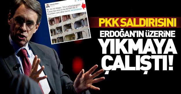 PKK saldırısını Erdoğan'ın üzerine yıkmaya çalıştı!