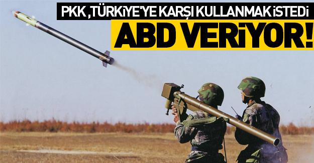 PKK'ya o silahı ABD verecek!