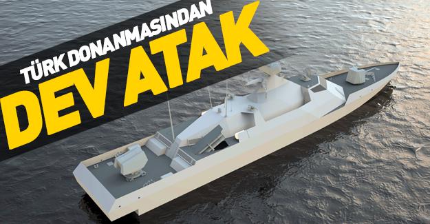 Türk donanmasının en hızlısı geliyor!
