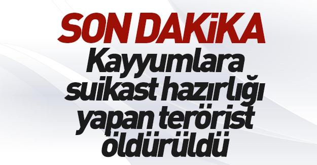 Kayyumlara suikaste hazırlanan PKK'lı ölü ele geçirildi