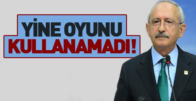 Kılıçdaroğlu Anayasa değişikliğinde oy kullanmadı