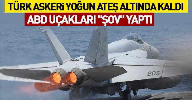 Türk askerine ateş açıldı