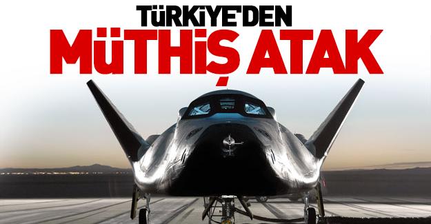 Türkiye'den müthiş atak!