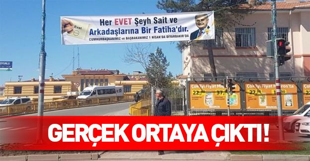 Şeyh Sait pankartına AK Parti'den açıklama