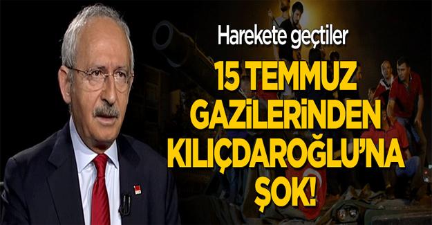 15 Temmuz gazileri Kılıçdaroğlu için harekete geçti!