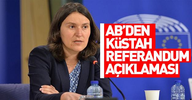 Avrupa Parlamentosu'ndan ilk açıklama