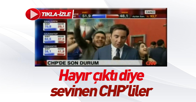 CHP genel merkezinde komik dakikalar!