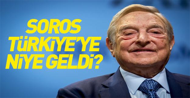 Gezi olaylarının sponsoru olarak bilinen Soros Türkiye'de