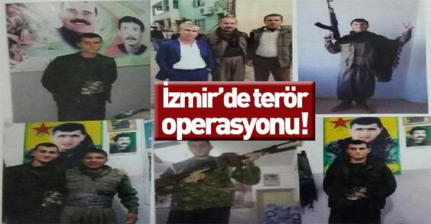 İzmir'de terör operasyonu: Onlarca gözaltı var...