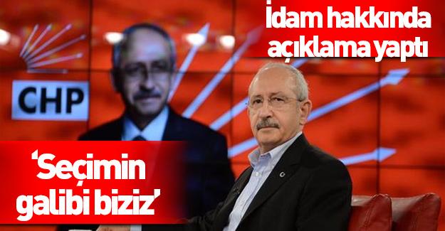 Kemal Kılıçdaroğlu kaybettiğine inanmıyor