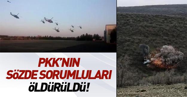Mardin'de PKK'nın sözde sorumluları öldürüldü