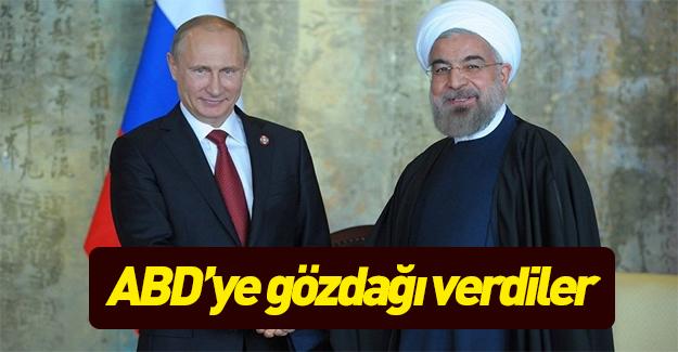 Rusya ve İran'dan açıklama: Karşılık vereceğiz!