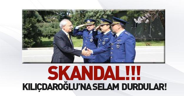 Skandal! Askerler Kılıçdaroğlu'na selam durdu
