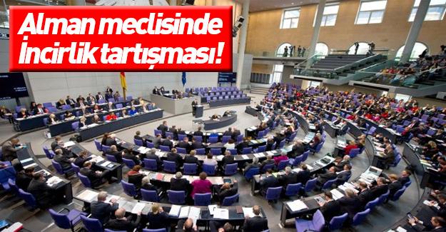 Alman meclisinde İncirlik mesaisi