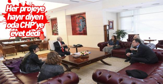 Mimarlar Odası'ndan Kılıçdaroğlu'na ziyaret