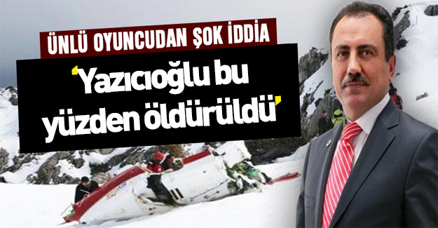 """Muhsin Yazıcıoğlu bu yüzden öldürüldü!"""""""