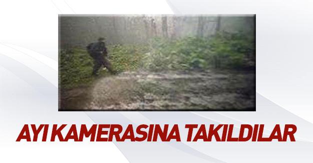 Trabzon'da askere saldıran teröristler görüntülendi