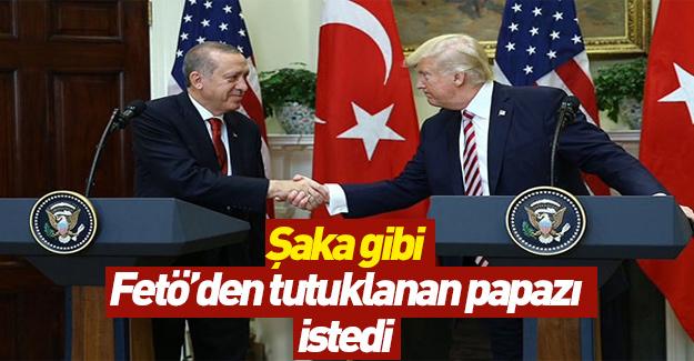 Trump, Erdoğan'dan FETÖ'den tutuklanan papazı istedi