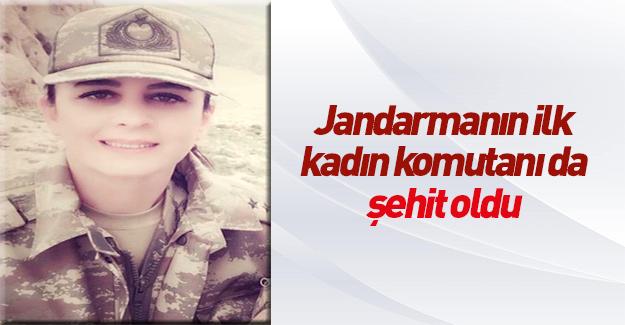 Jandarmanın ilk kadın komutanı Songül Yakut da şehit oldu