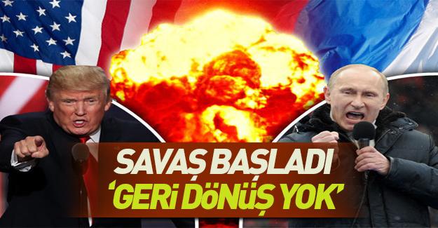 ABD'den Rusya'ya topyekun savaş!