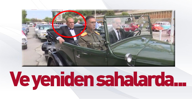 Atatürk'e benzeyen adam yine ortaya çıktı