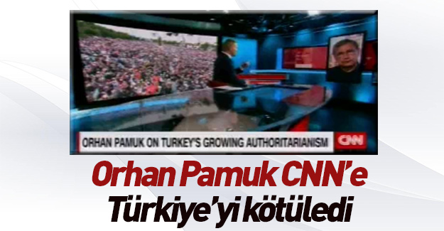 Orhan Pamuk Türkiye'yi yerden yere vurdu