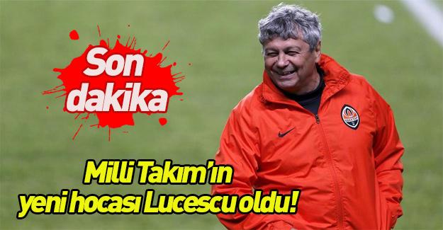 Son dakika Milli Takım'ın yeni hocası Lucescu oldu!