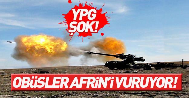 TSK Afrin'de YPG'yi vurdu