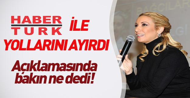 Balçiçek İlter Habertürk TV'den ayrıldı