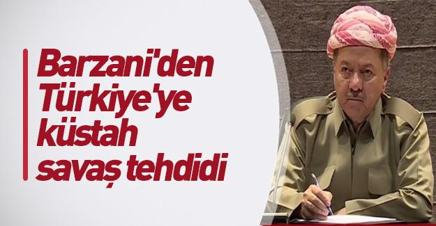 Barzani'den Türkiye'ye karşı küstah savaş tehdidi
