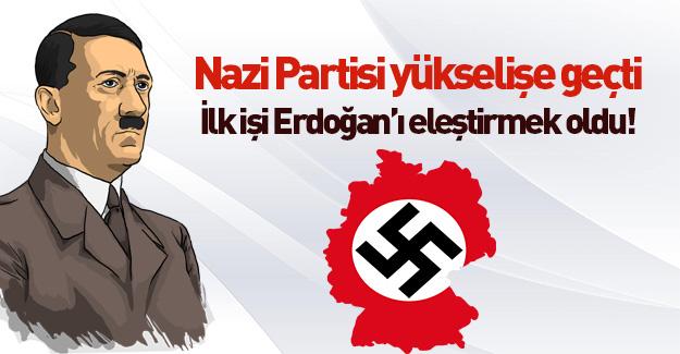 Irkçı parti Türkiye politikasında Merkel'in yolunda
