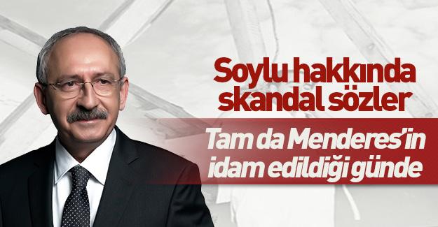 Kılıçdaroğlu'ndan sınırı aşan Süleyman Soylu açıklaması