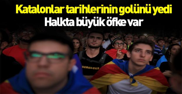 Katalon lider halkını hüsrana uğrattı