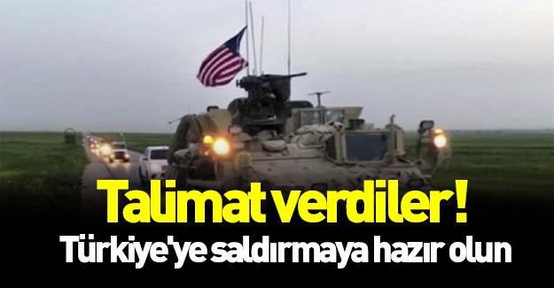 Talimat verdiler! Türkiye'ye saldırmaya hazır olun