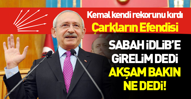 Tornistan Kemal kendi rekorunu kırdı!