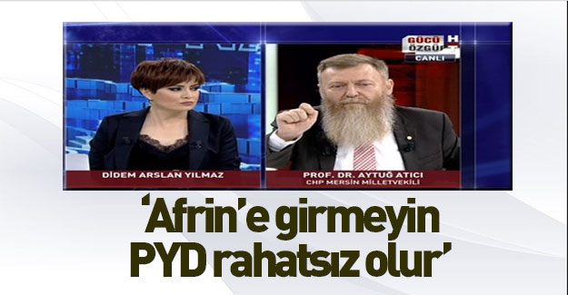 CHP'li Atıcı'dan skandal yorumlar!