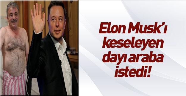 Elon Musk'ı keseleyen tellak, bahşiş yerine araba istedi