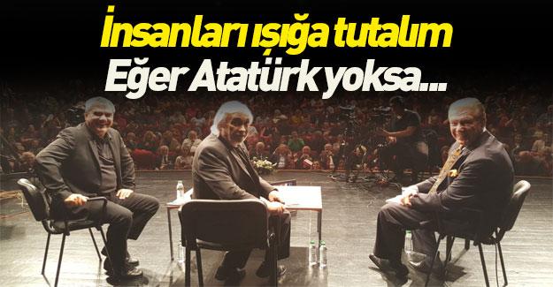 Halk TV'deki programda insanlara Atatürk testi yapılmasını istedi