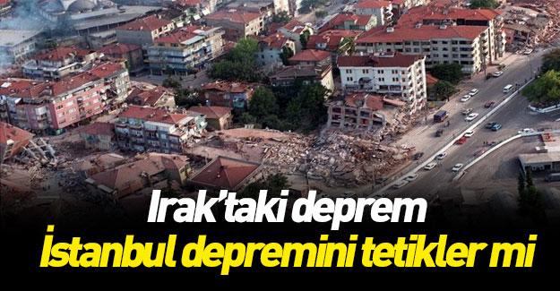 Irak depremi sonrası uyardı! Bu bölgeye dikkat