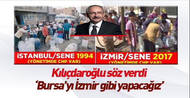 Kemal Kılıçdaroğlu Bursa'da konuştu